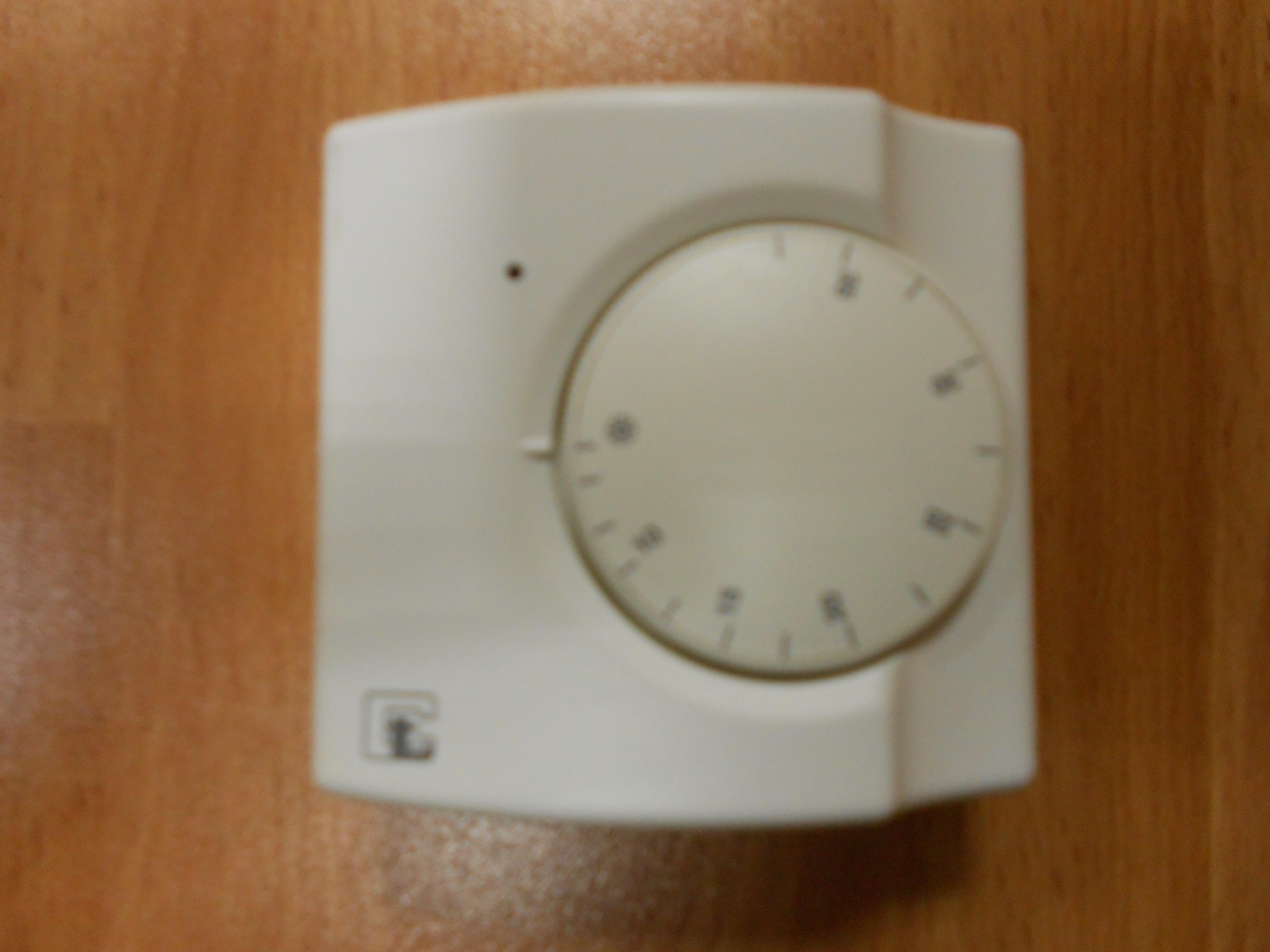 Termostato de ambiente ty92 a1 de campini corel electroav - Termostato de ambiente ...
