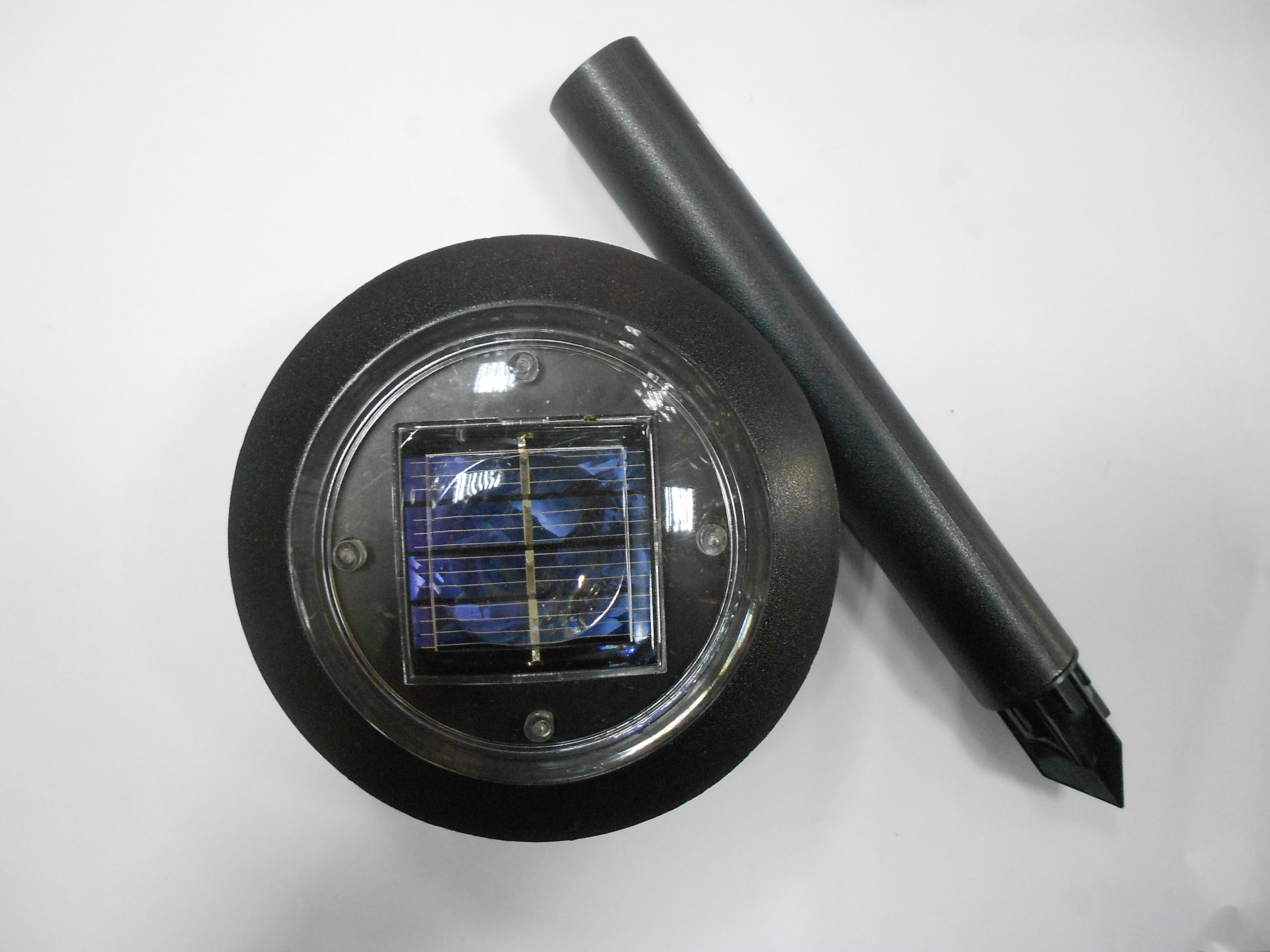 Aplique solar exterior sierra ip40 negro de - Aplique solar exterior ...
