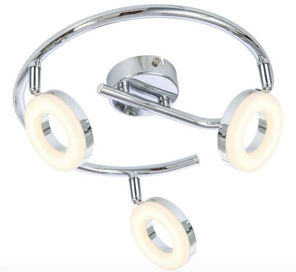 Espiral 3 luces led de 5w modelo Noelia